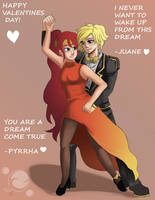 Happy Valentines/Ship Day by Pittree