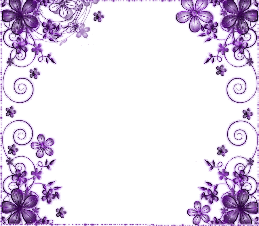 Purple Flower By Mircia90 On Deviantart