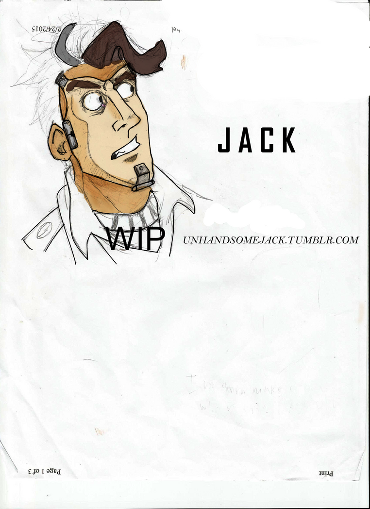 wip- Handsomejack by galickmaster