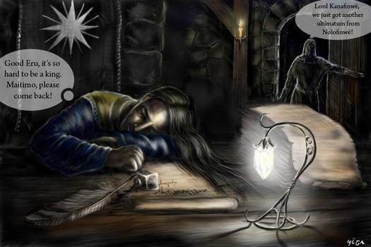 AU: Alone he set forth PART 1