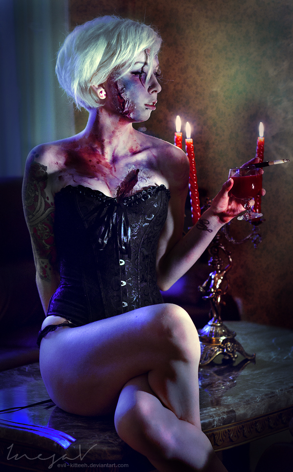 Victorian Ghoul by Albino-Kittie