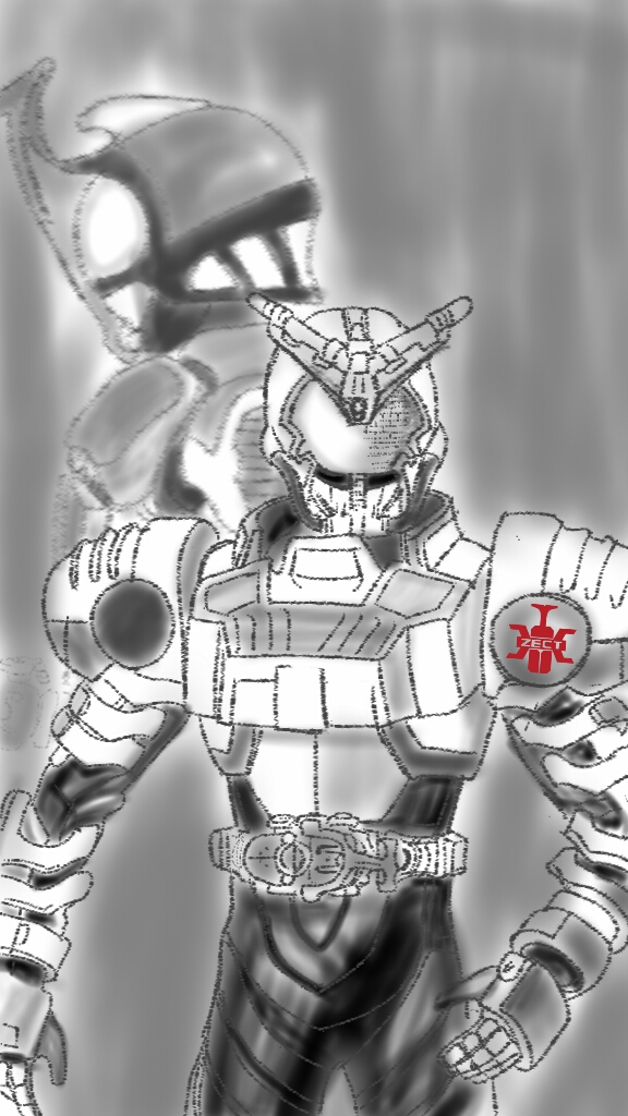 Kamen Rider Kabuto art By AppyKrazy by APPYKRazy on DeviantArt