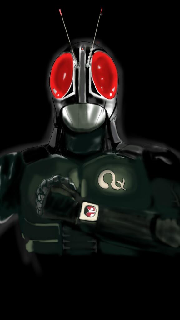 Kamen Rider Black RX paint by APPYKRazy on DeviantArt