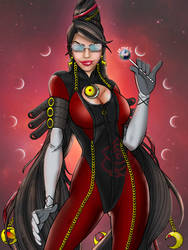 Bayonetta for 2000 pageviews by drMarin