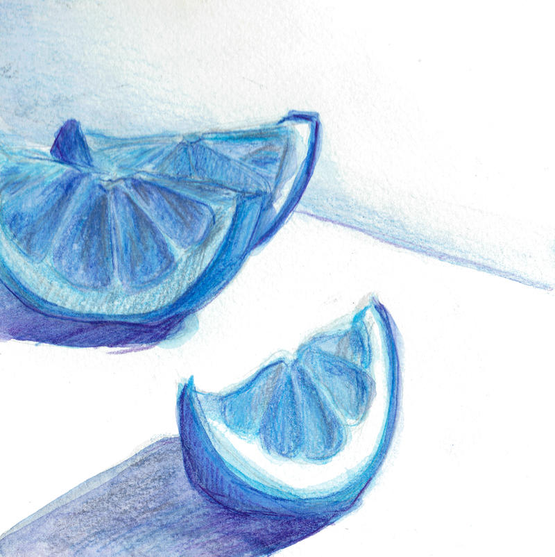 Blue Lemons by razzledazzlemonster on DeviantArt
