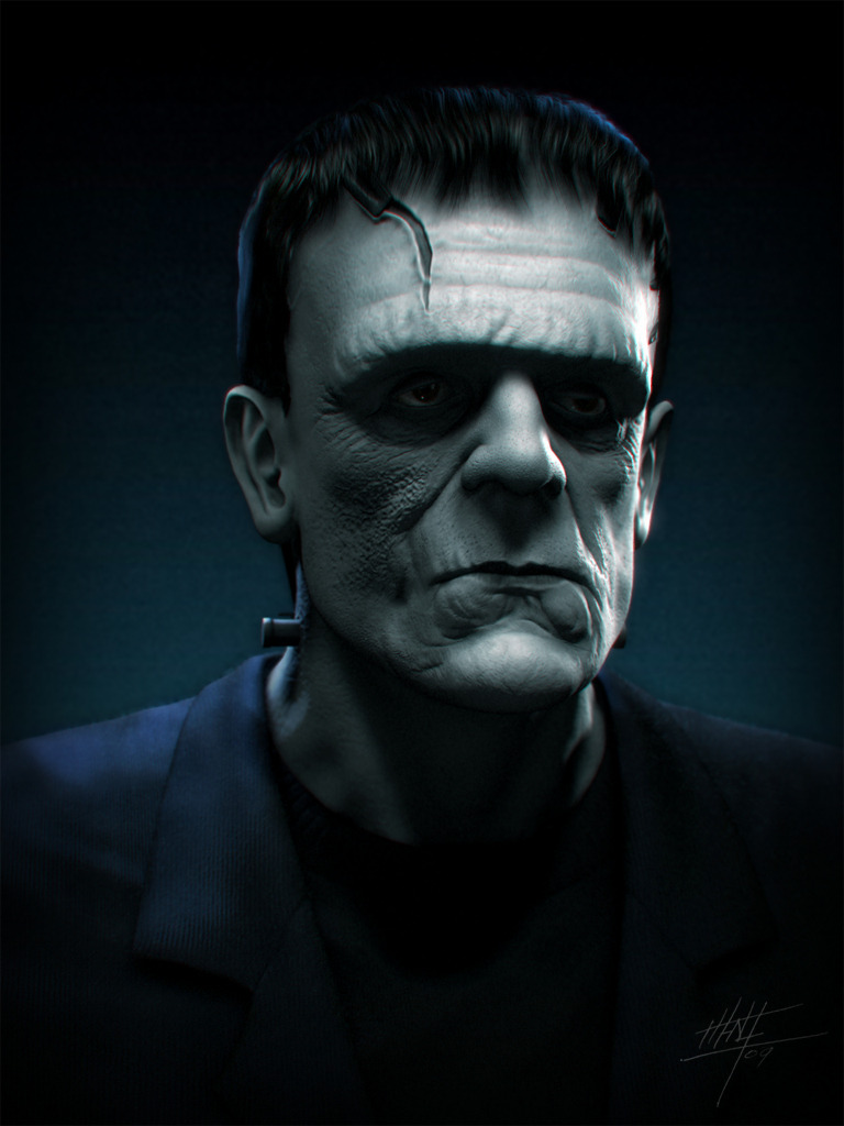 Frankenstein monster by MB-CG