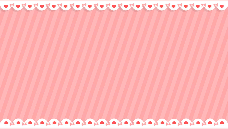 Cutie Ribbon and Heart BG | Free BG/Stock by Enji-hime