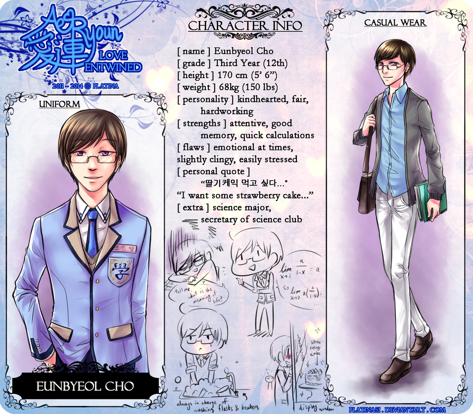 [ profile ] Eunbyeol by PlatinaSi