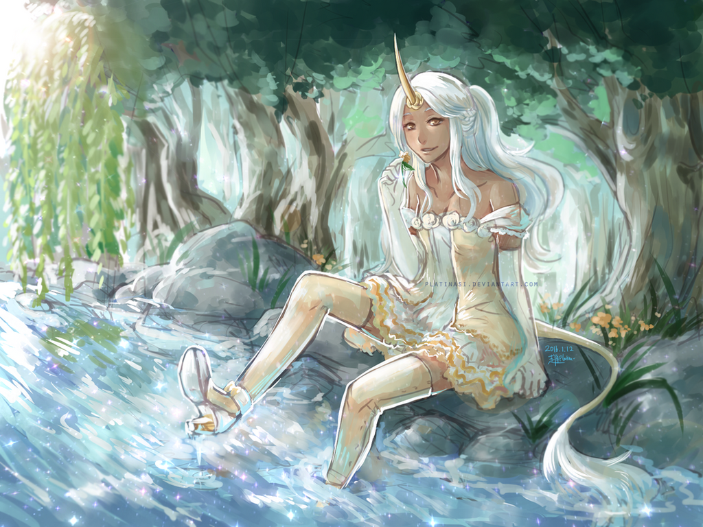 [HBD] forest stream by PlatinaSi