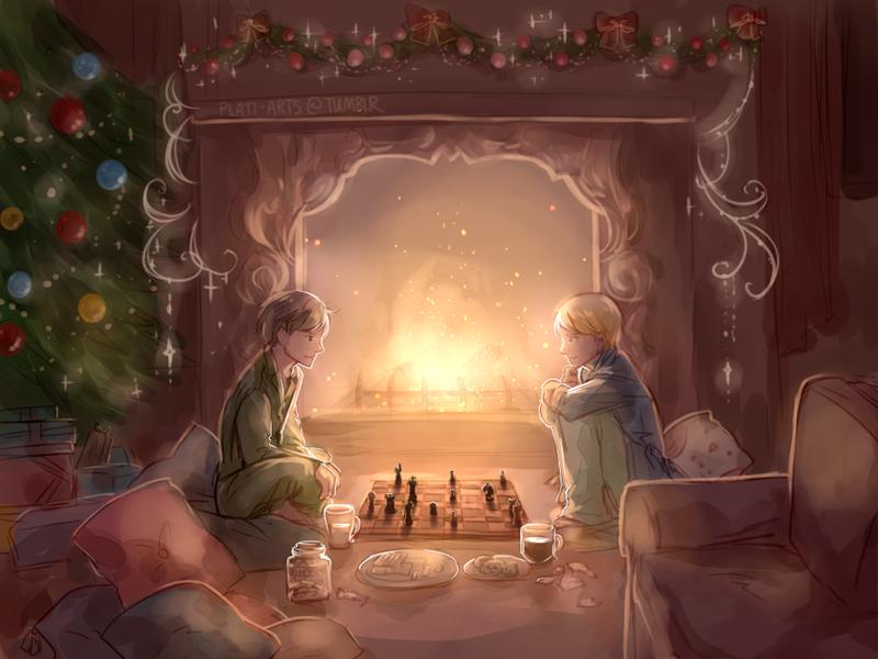 Christmas Night by PlatinaSi