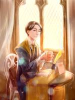 [HBD] autumn teatime by PlatinaSi