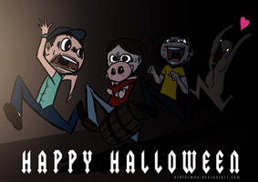 VGA Halloween by Viktormon