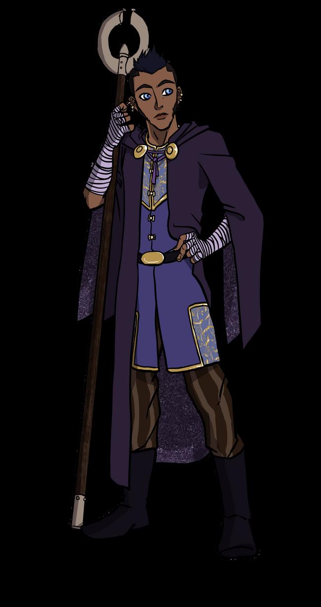 DnD Character Cenric by Viktormon