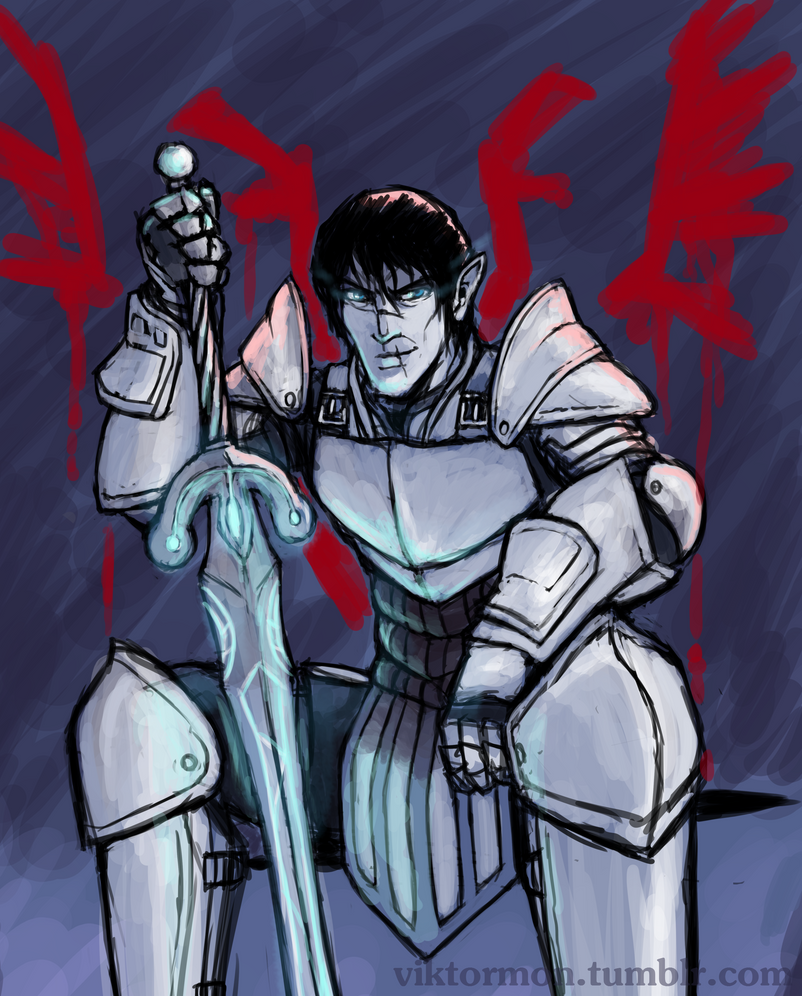 Warden Commander Tabris by Viktormon