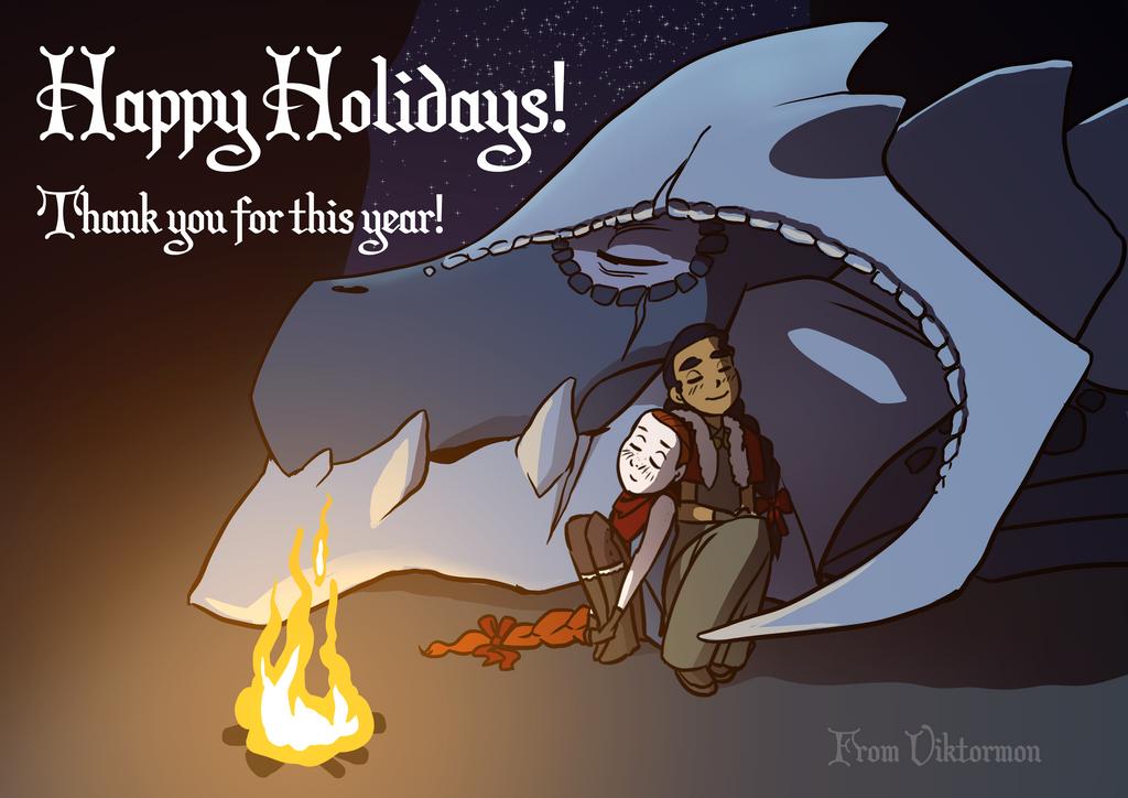 Happy Dragondays by Viktormon