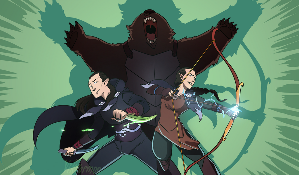 Vex, Vax and Trinket by Viktormon