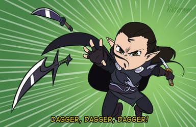 Dagger, dagger, dagger! by Viktormon