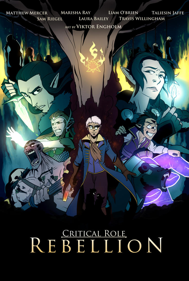 Critical Role - Rebellion by Viktormon