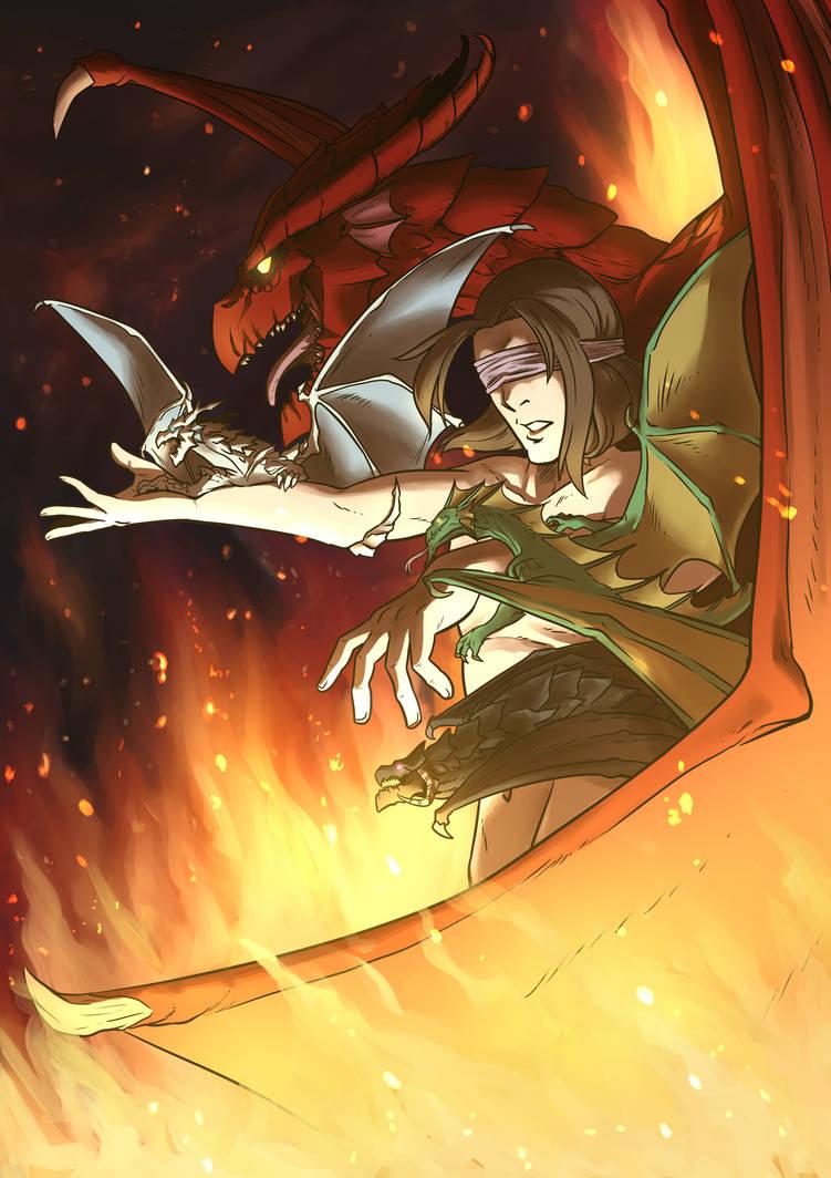 Matt Mercer - Father of Dragons by Viktormon