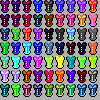 pixel corsets 100x100 by KNK88