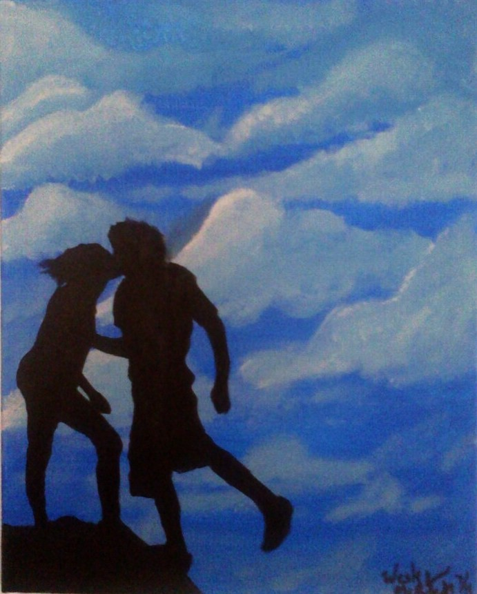 Two lovers kissing 3 by punkwesley03 on deviantart for 2 lovers pic