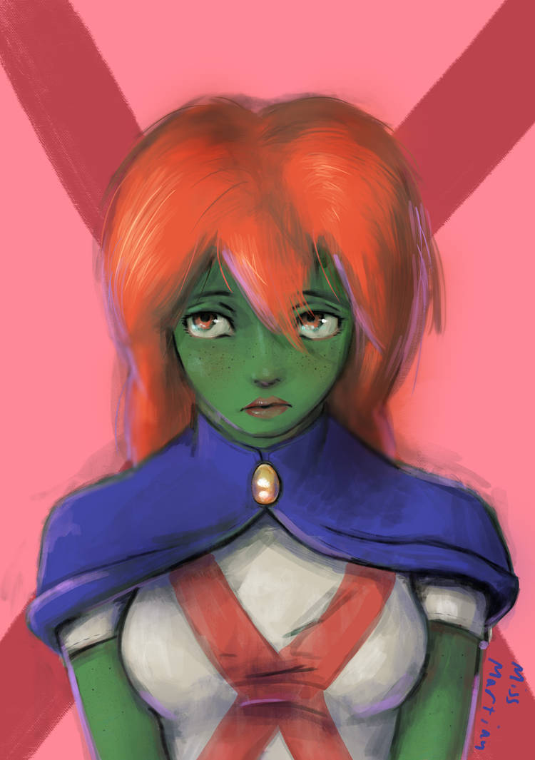 Miss Martian by IsiacDaGraca