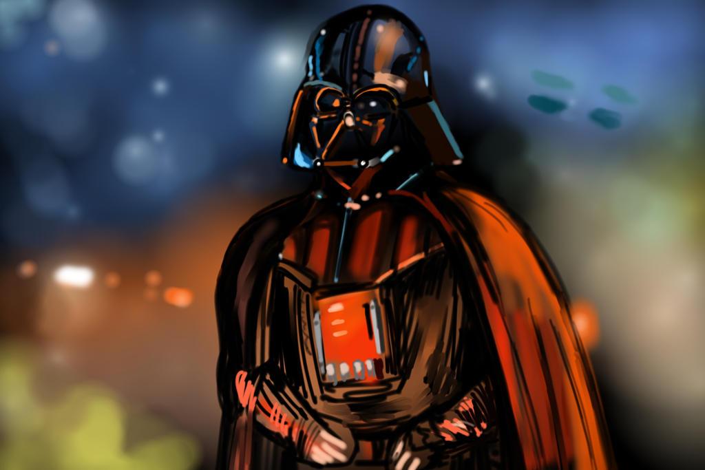 Darth Vader Reflections By Heroforpain Deviantart