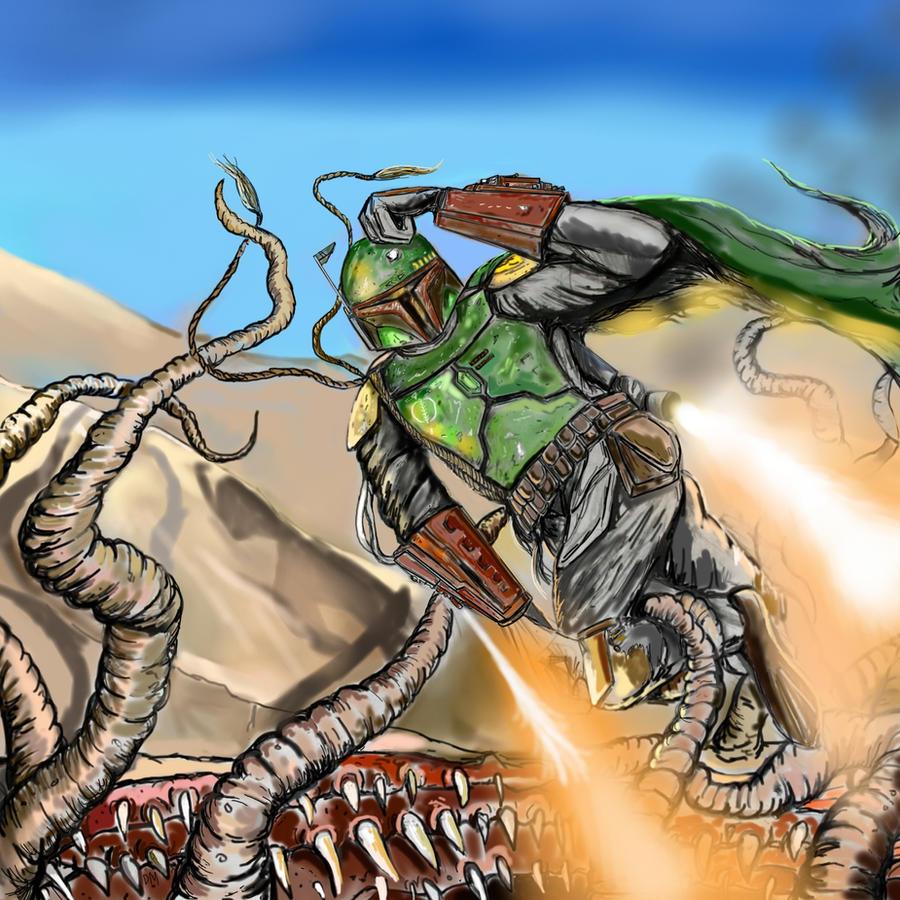 Boba Fett et Jango Fett - Page 5 The_Great_Escape_of_Boba_Fett_by_DarthMater