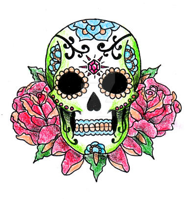 Mexican Skull By KellogsJ On DeviantArt