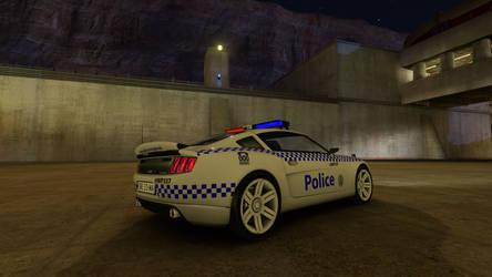Trackmania 2 Canyon NSW Police (HWP) Rear