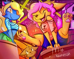 FOX PARTY!!!!!!!!! by MiaKameron