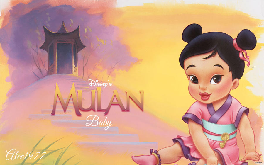 Baby Mulan by Alce1977 on DeviantArt