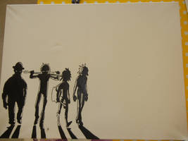 Just the start on something with Gorillaz on it...