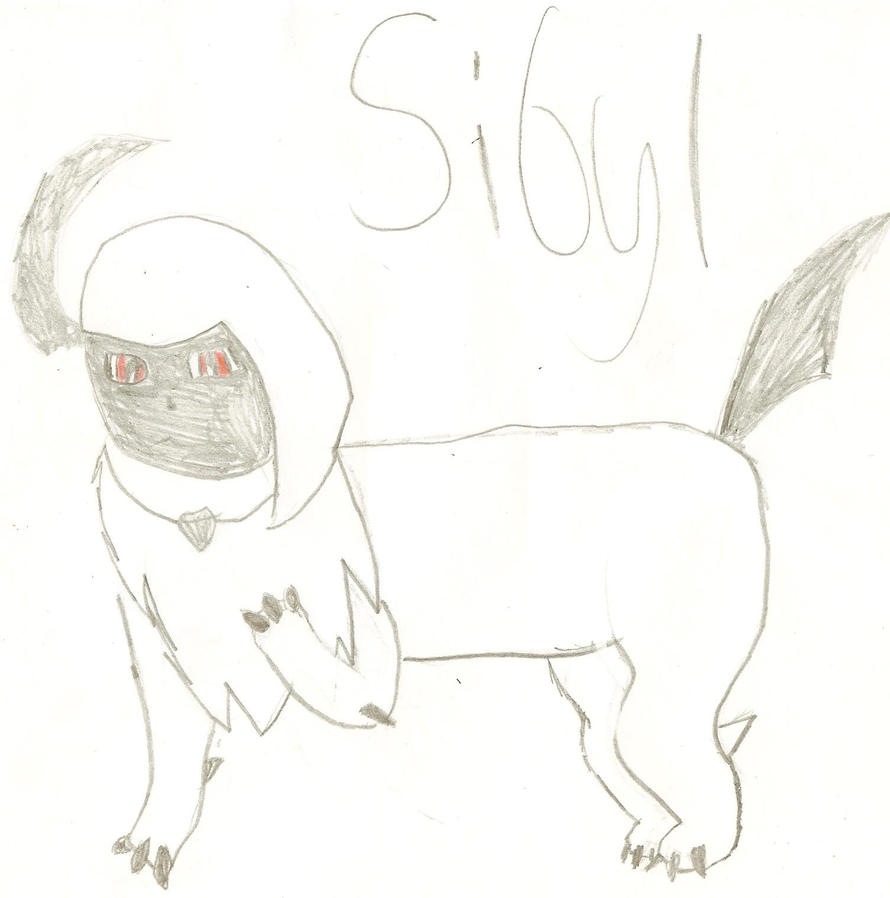 I can draw! =D Sibyl_the_absol_by_pokefreak489-d4f7wio