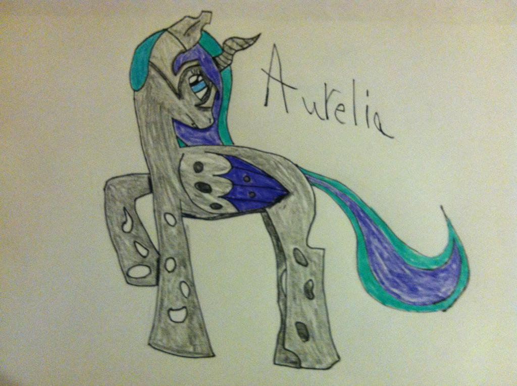 Random MLP stuff Aurelia_by_pokefreak489-d66gdr6