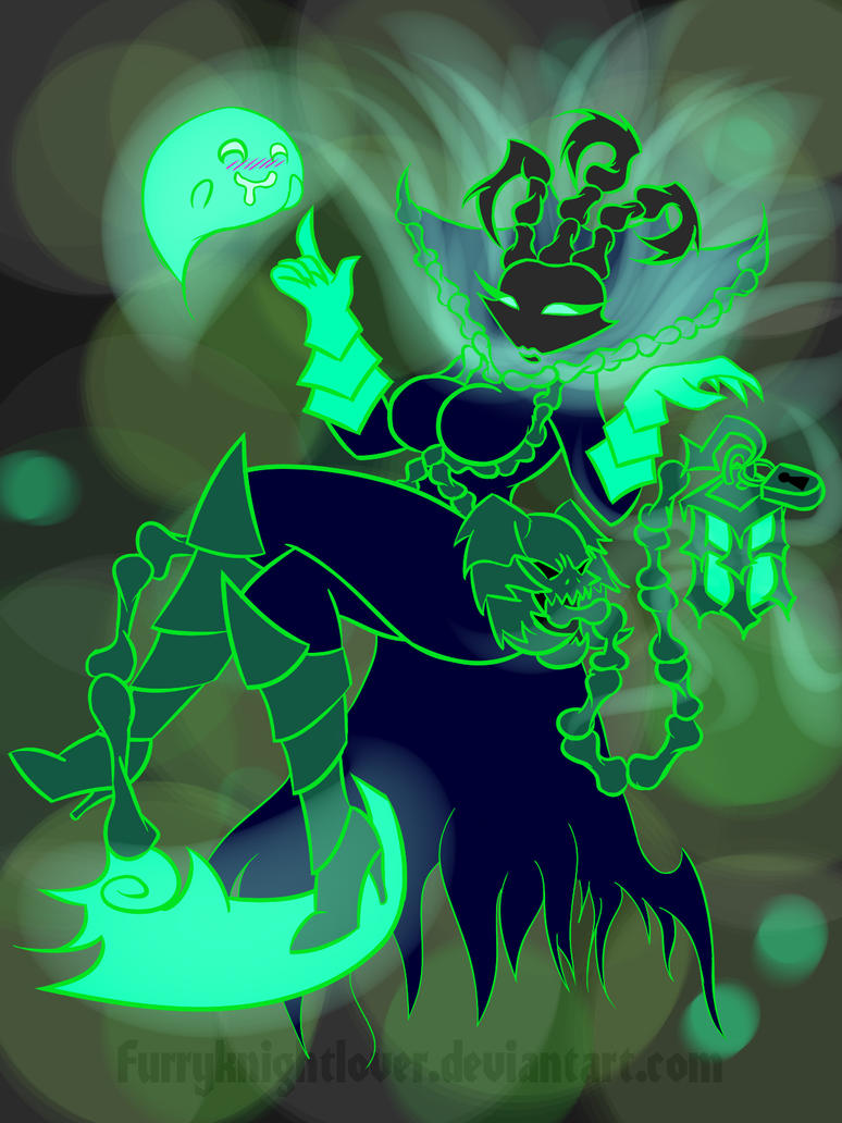 Female Thresh - Ever seen your soul? by Furryknightlover