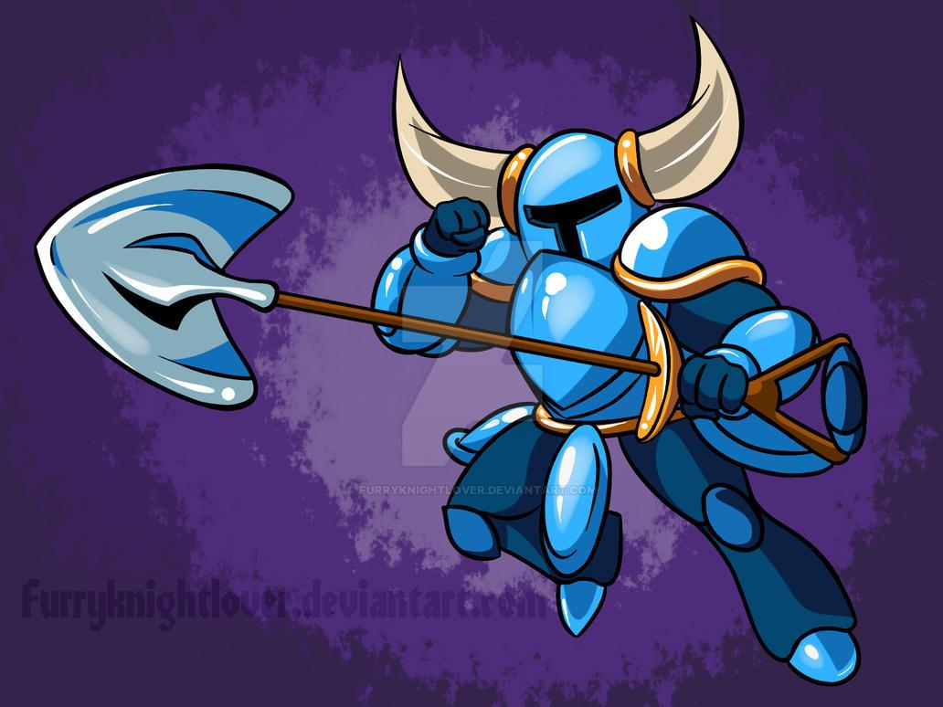 Shovel Knight by Furryknightlover