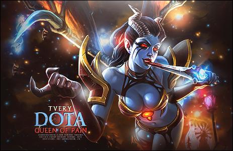 Dota Queen by TveryGFX