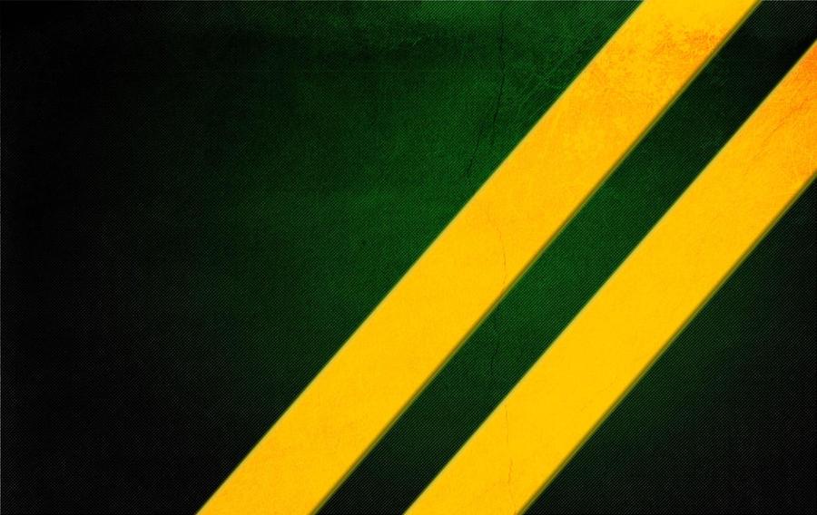 yellow stripes on black green by fdiazmaroto on deviantart