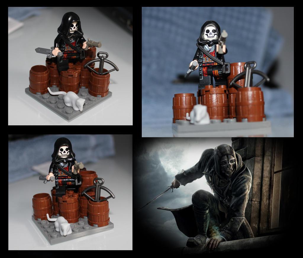Lego Dishonored Corvo Attano by LD-Skull