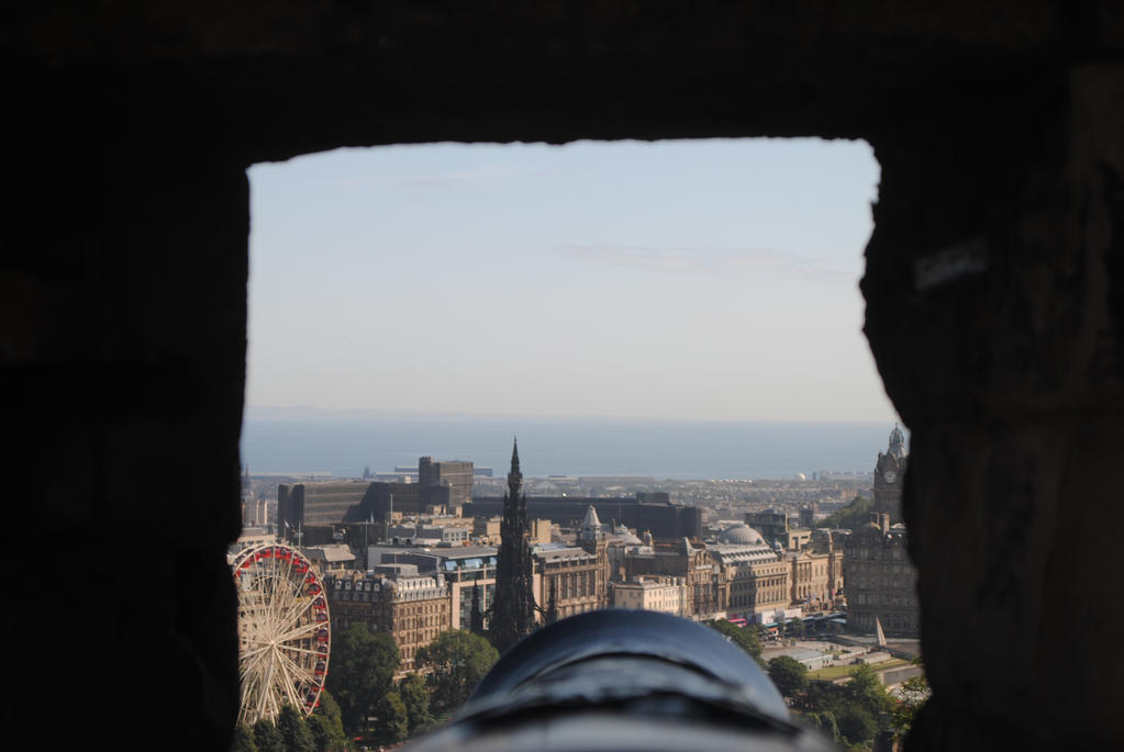 The View from Edinburgh Castle by Pridalic11