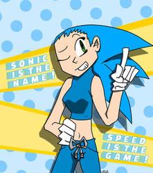 female sonic (humanized)