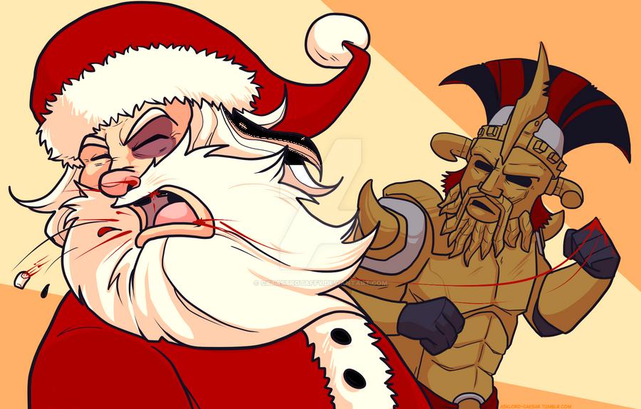 Merry Caesarmas by TtotheAFFY