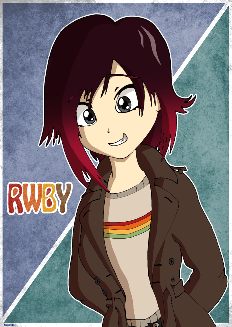 Retro Ruby Rose by TheClassicThinker