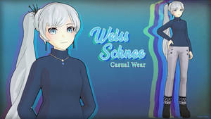 [MMD] Weiss Schnee - Casual Wear [DL] by TheClassicThinker