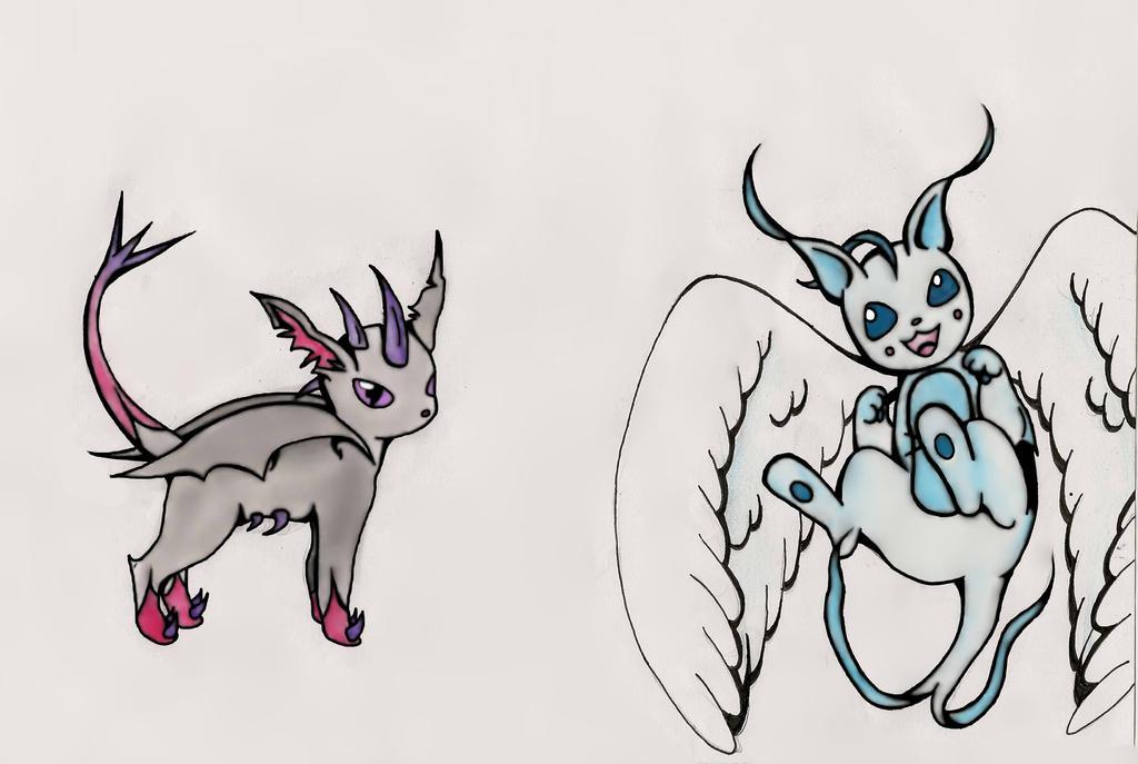 Dragon Type Eevee Pokemon Images | Pokemon Images