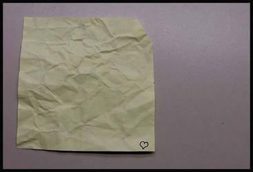 My Paper Heart by sorrowsworn-demon