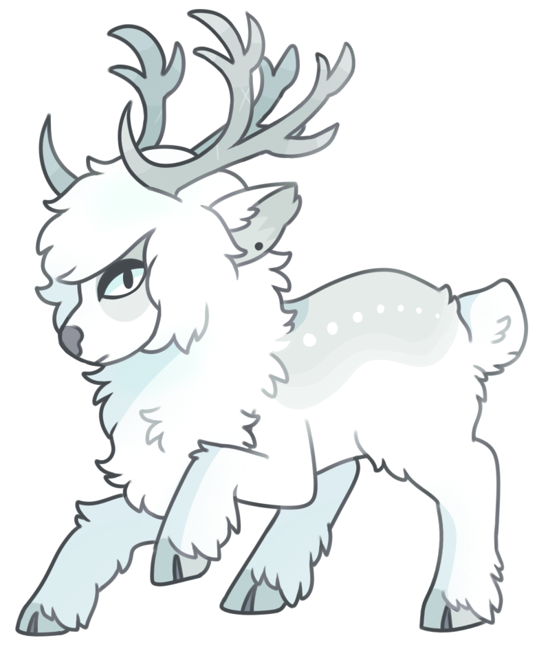 [Commission] CrookedAntlers by obakesama