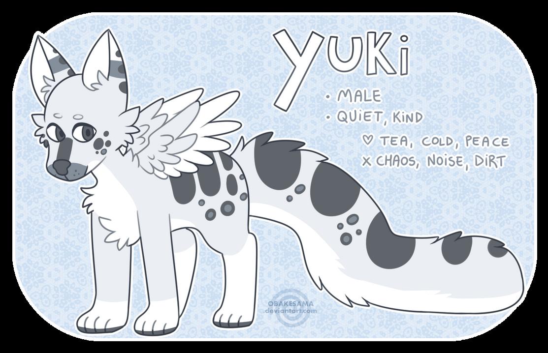 Yuki - Reference Sheet by obakesama
