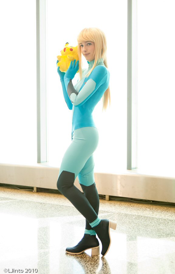 Samus and her Cute Companion by Katsumiyo